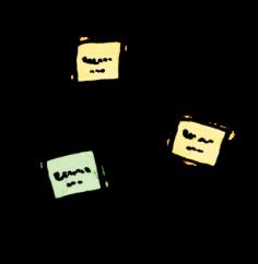複数のコーヒーパッケージ